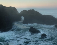 Sunrise at Indian Sands, Samuel H. Boardman State Scenic Corridor, Oregon