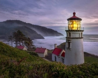 Yeceta Head Lighthouse, Oregon Coast