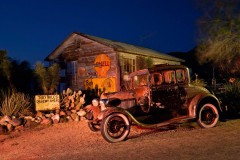 300 Desert Miles Ahead, Route 66, Hackberry, AZ