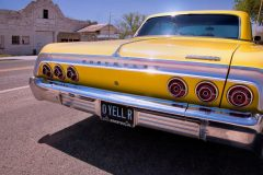 Chevy Impala, Route 66, Peach Springs, AZ