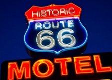 Historic Route 66 Motel Sign, Seligman, AZ