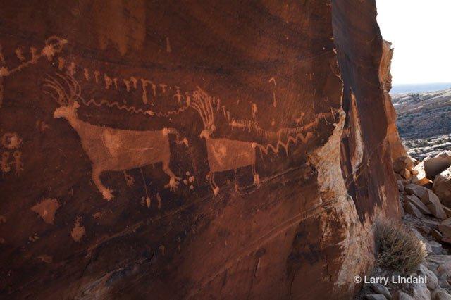 Procession Panel Petroglyph