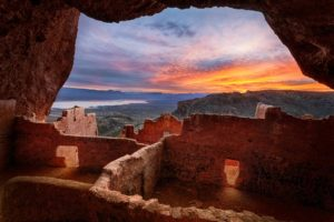 Sunrise at Upper Ruins, Tonto National Monument
