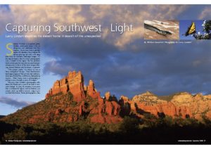 Outdoor Photographer | Capturing Southwest Light (484 kb)