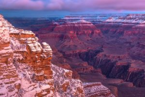 Grand Canyon Winter | Photo by Larry Lindahl