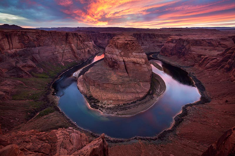 Horseshoe Bend Sandstone Swirls | Photo by Larry Lindahl