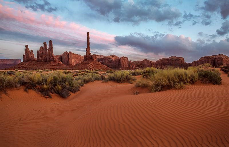 The Totem Pole, Monument Valley