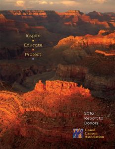Grand Canyon Assn Report to Donors