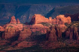 Mitten Ridge, Sedona, Arizona, Coconino National Forest,